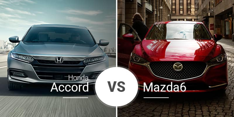 Honda Accord Vs Mazda6