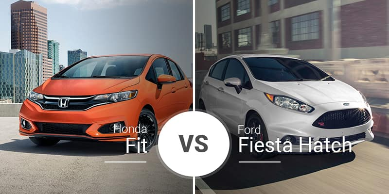 Honda Fit Vs  Ford Fiesta