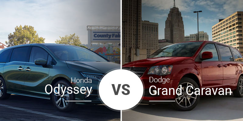 2019 Honda Odyssey Vs 2019 Dodge Grand Caravan