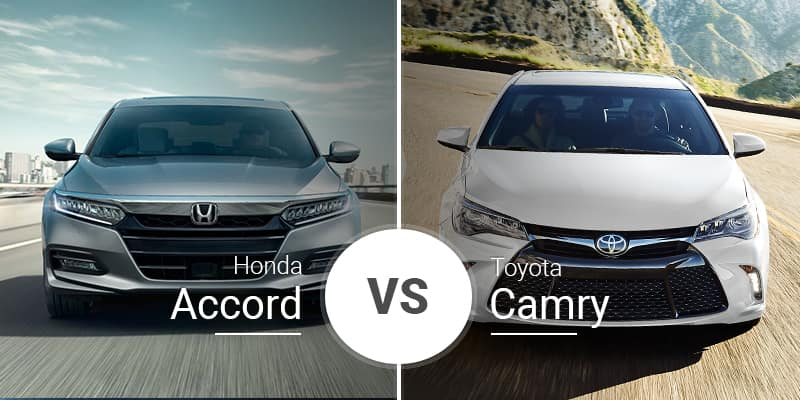 Accord Vs Camry >> Honda Accord Vs Toyota Camry