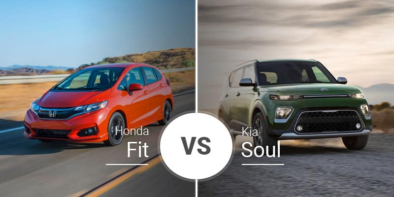 Honda Fit Vs Kia Soul