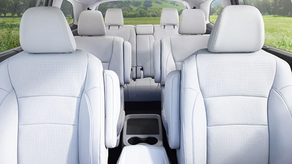 Interior Features of the New Honda Pilot at Garber in Rochester, NY