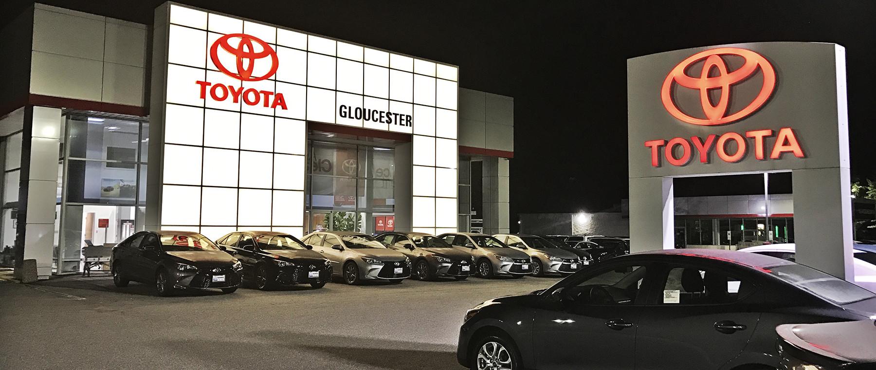 Gloucester Toyota Banner
