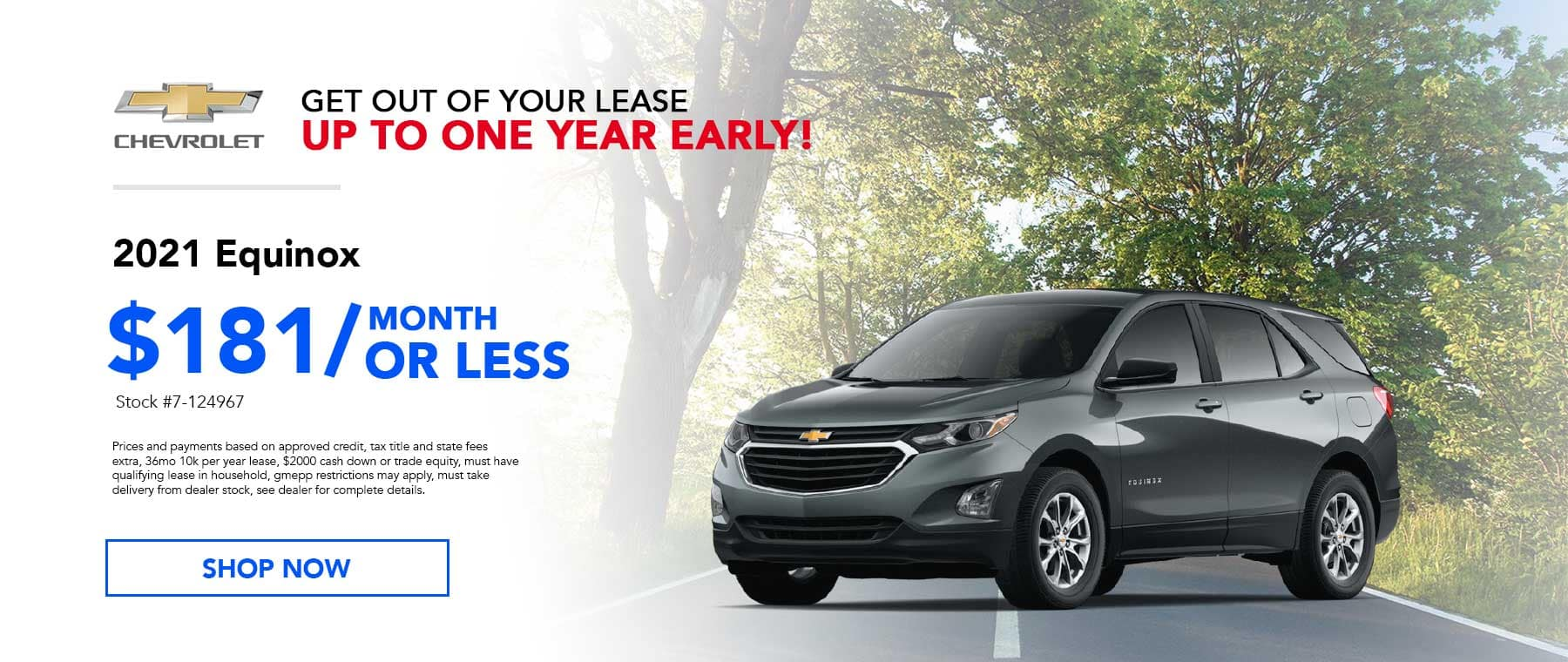May 2021 Equinox Lease Specials