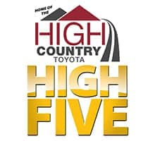 High Country Toyota High Five