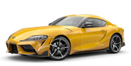 Yellow Toyota Car