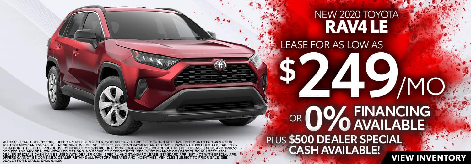 New 2020 Toyota RAV4 LE at High Country Toyota