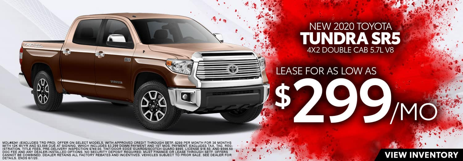 New 2020 Toyota Tundra SR5 at High Country Toyota