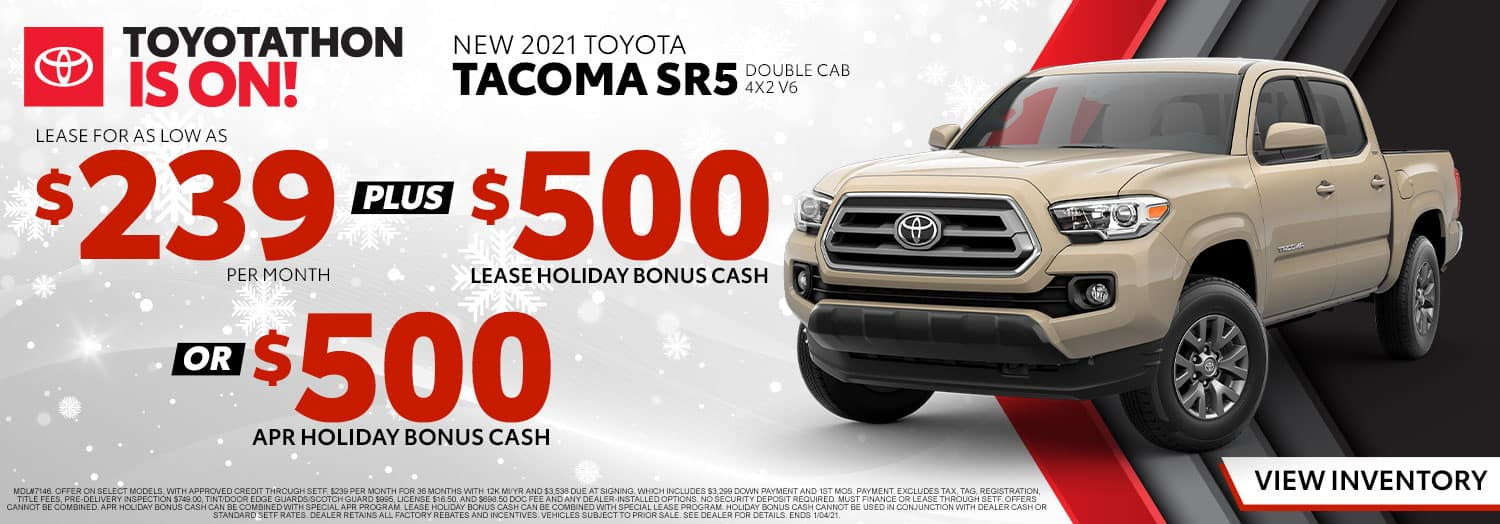 New 2021 Toyota Tacoma SR5 at High Country Toyota!