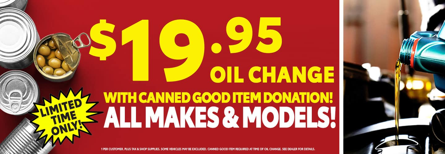 $19.95 Oil Change at High Country Toyota