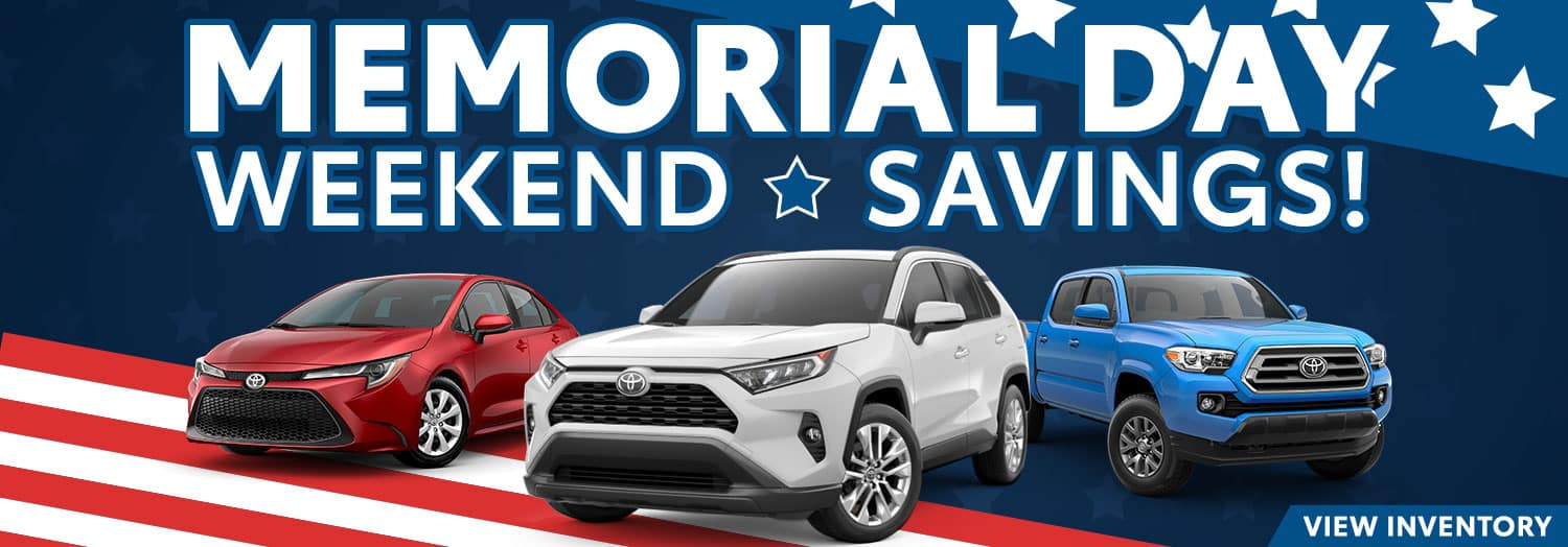Memorial Day Weekend Savings!