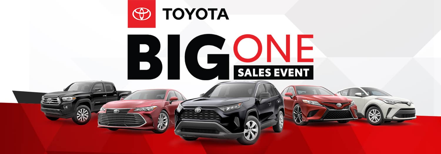 Big One Sales Event at High Country Toyota!