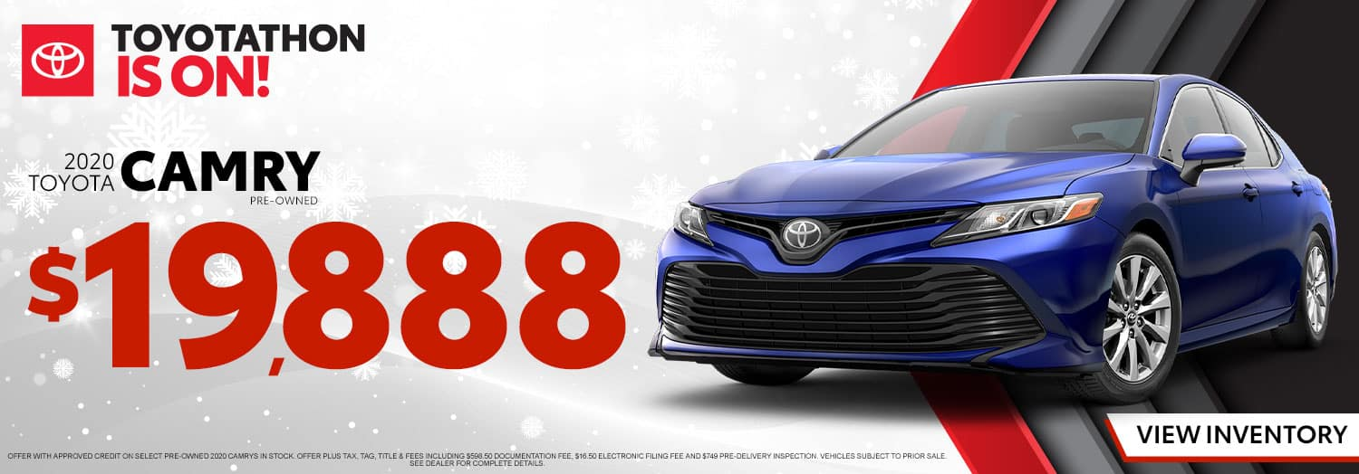 Pre-Owned 2020 Toyota Camry at High Country Toyota!