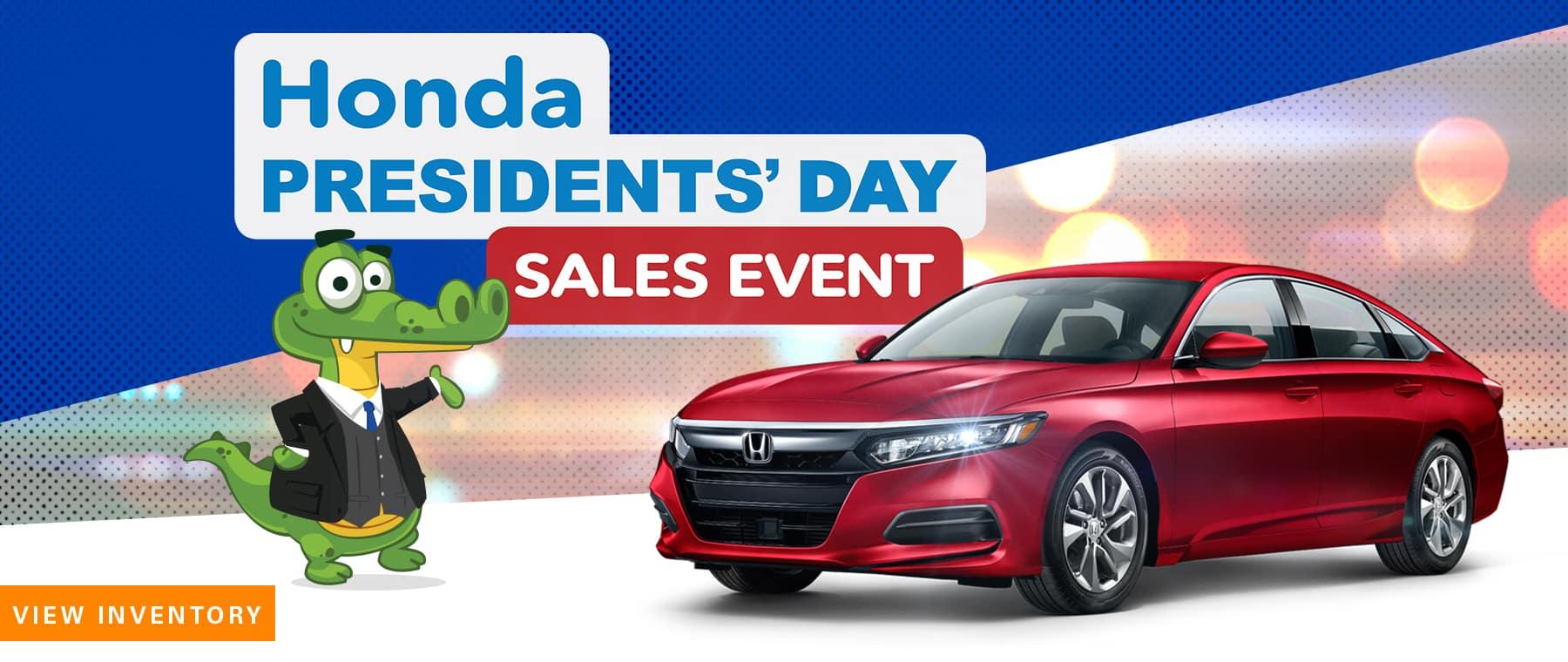 Honda President's Day Sales Event