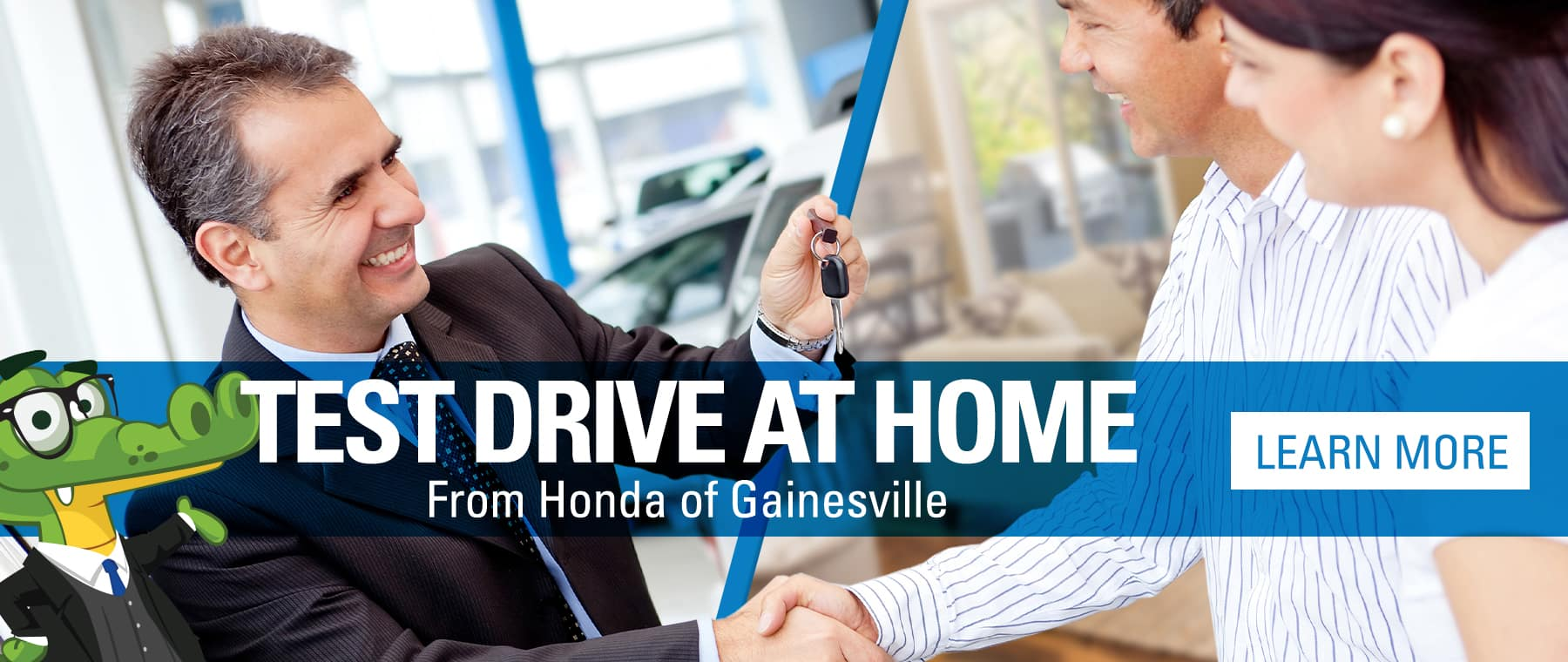 Test Drive At Home From Honda of Gainesville