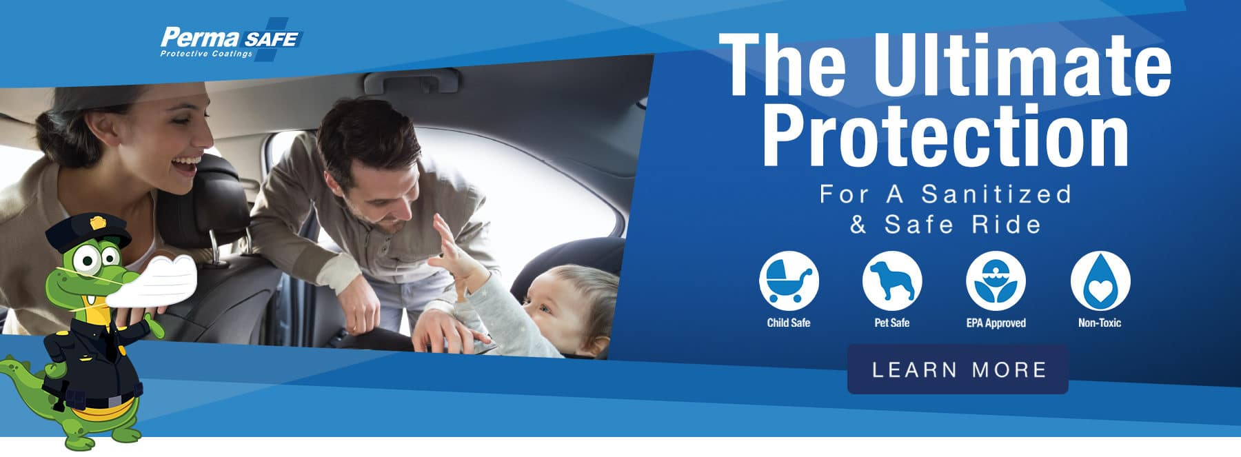 PermaSafe - The Ultimate Protection - For a Sanitized & Safe Ride