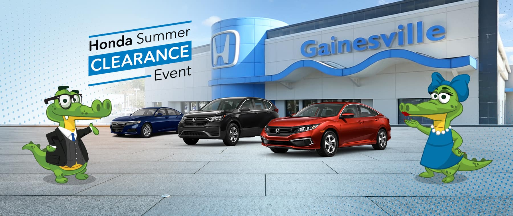 The Honda Summer Clearance Event At Honda of Gainesville