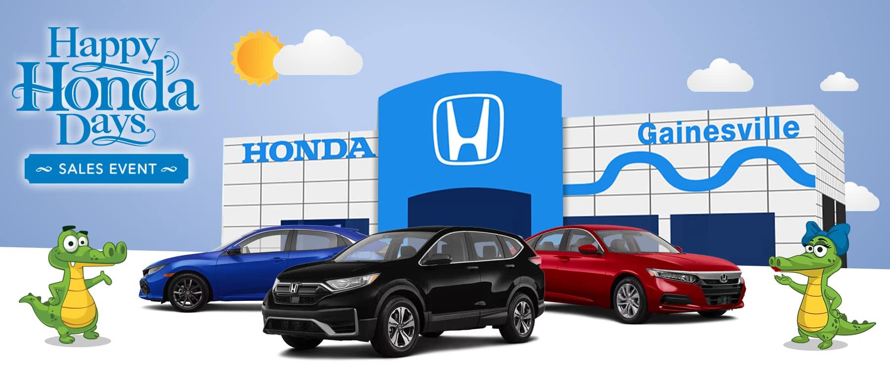 Happy Honda Days Sales Event