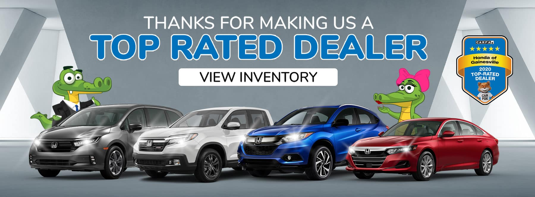 Thank You For Making Us A Top Rated Dealer - CarFax