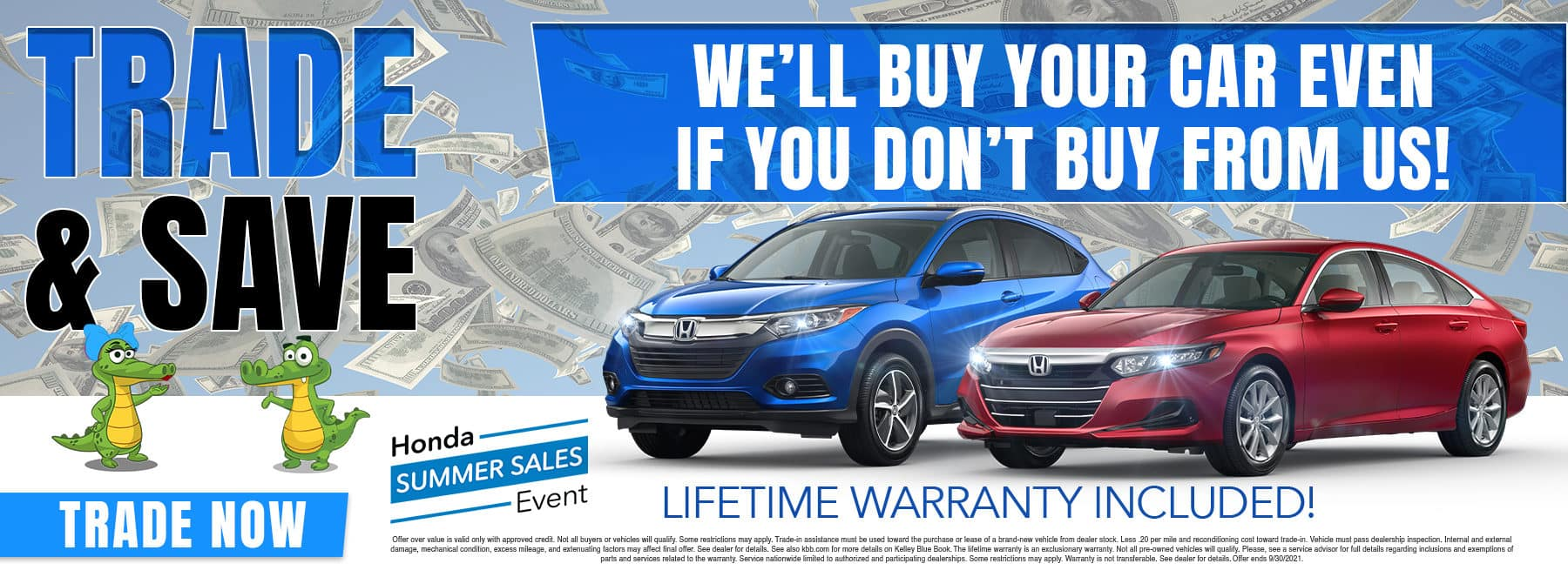 Trade & Save | We'll Buy Your Car Even If You Don't Buy From Us!