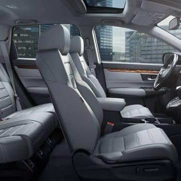 2018 Honda CR-V Interior Colors and Seating Cross-Section