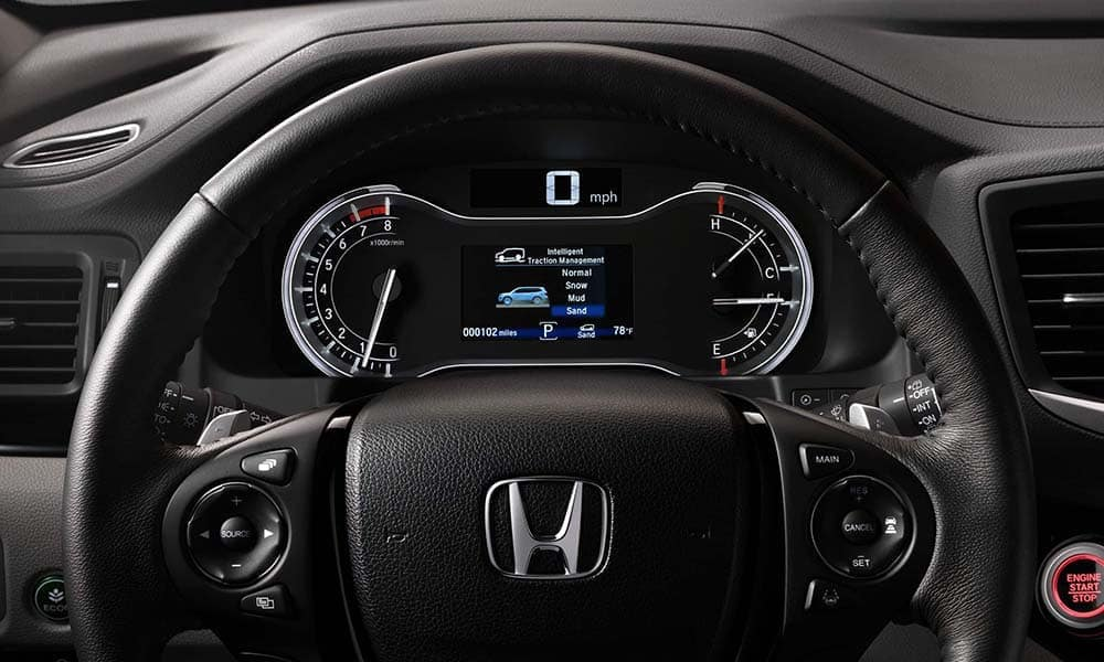 Honda Pilot Wheel and Dash