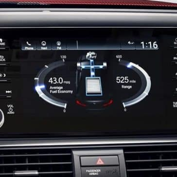 2019 Honda Accord technology screen