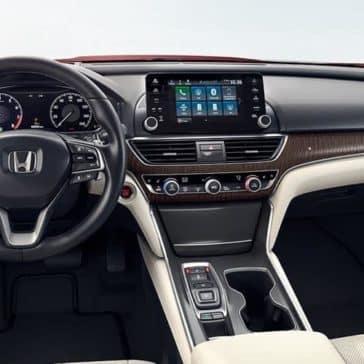 2019 Honda Accord dashboard