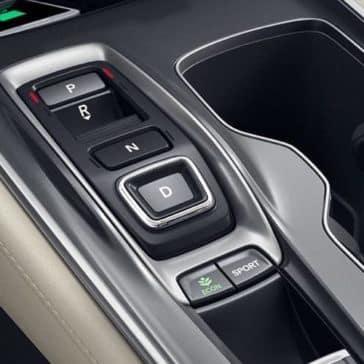 2019 Honda Accord interior detail