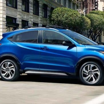 2019 Honda HR-V profile view