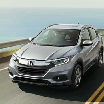 2019 Honda HR-V on the sea way