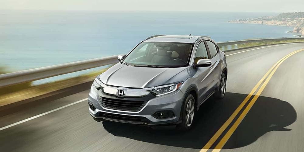2019 Honda HR-V on the sea way