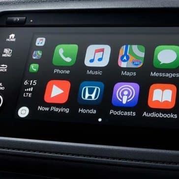 2019 Honda HR-V technology screen