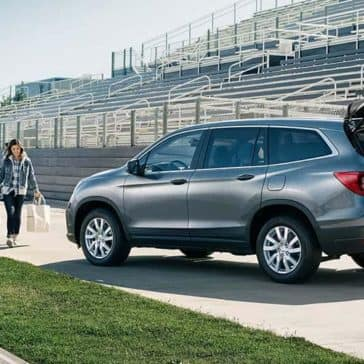 2019 Honda Pilot on the field