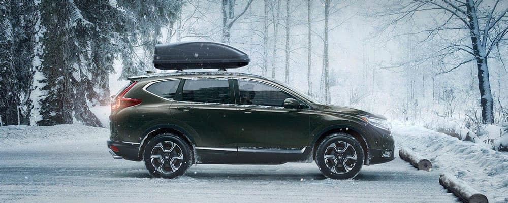 2019 Honda CR-V Driving in Snow