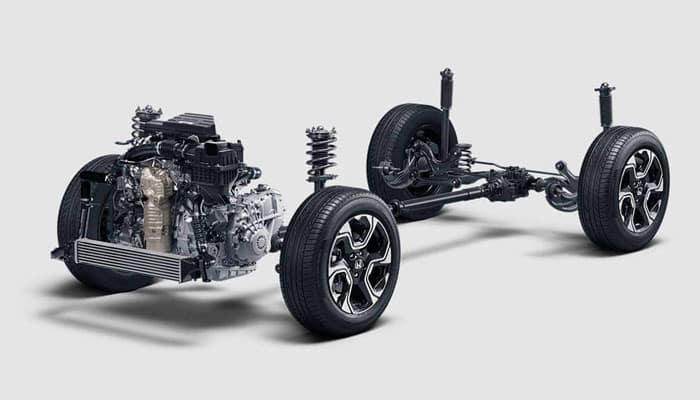Honda CR-V Front Driver Chassis