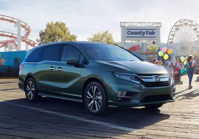2019 Honda Odyssey At Carnival