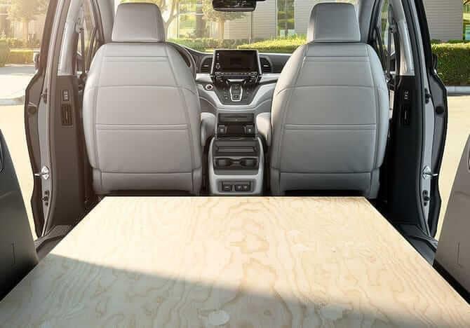 2019 Honda Odyssey space