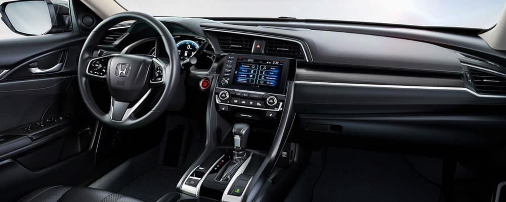 2019 Honda Civic Interior Passenger View