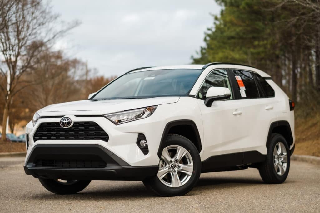 Lease The 2021 RAV4 LE