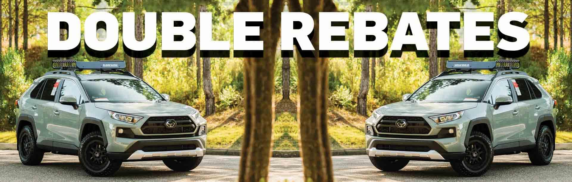 Double Rebates at Hoover Toyota