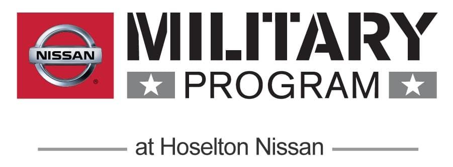 Nissan Employee Lease >> Nissan Military Program | Hoselton Nissan