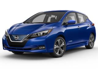 Stock photo of Nissan Leaf