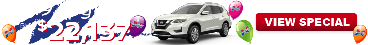 Buy Rogue this month at Hoselton Nissan