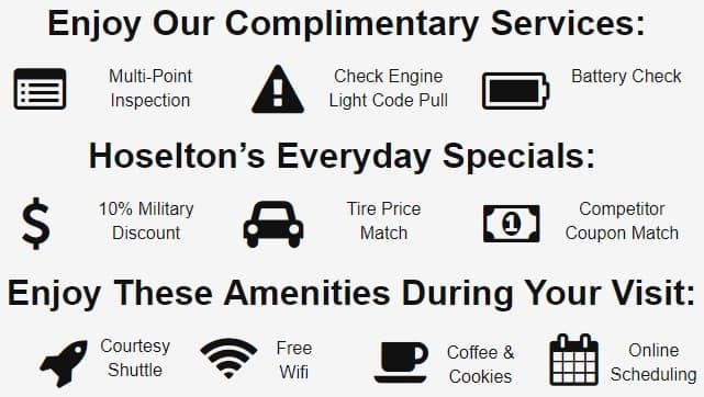 Hoselton Nissan's Specials