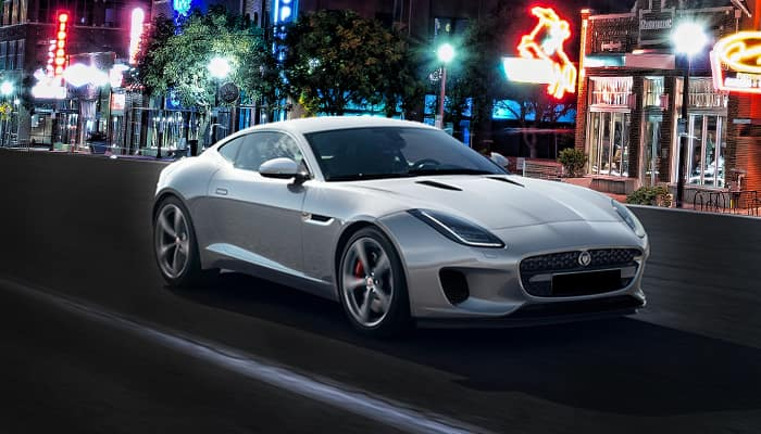 Lease an F-Type $499 per month