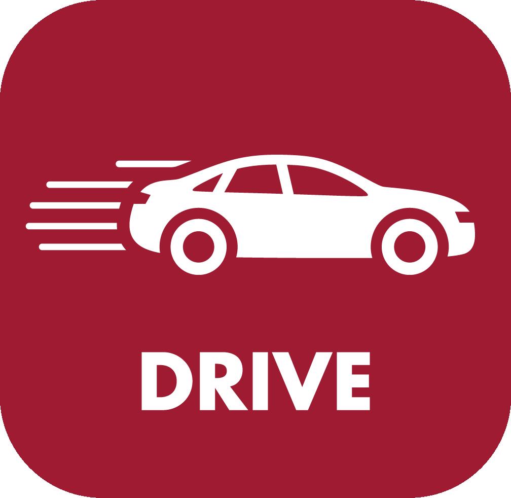 Car drive Icon