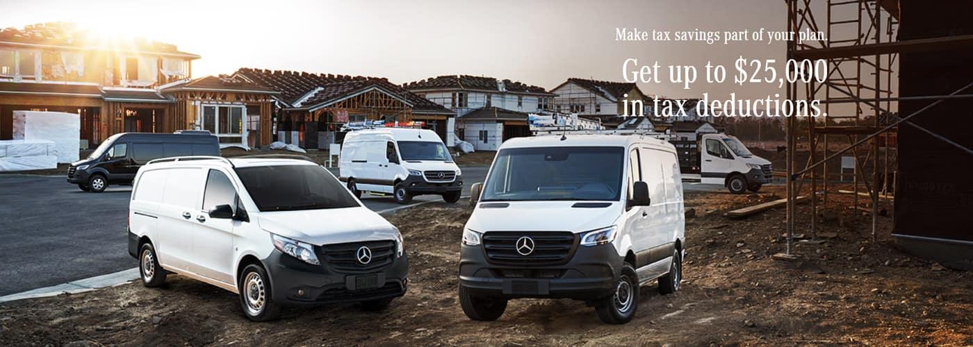 Mercedes-Benz Sprinter 179 Tax Deduction