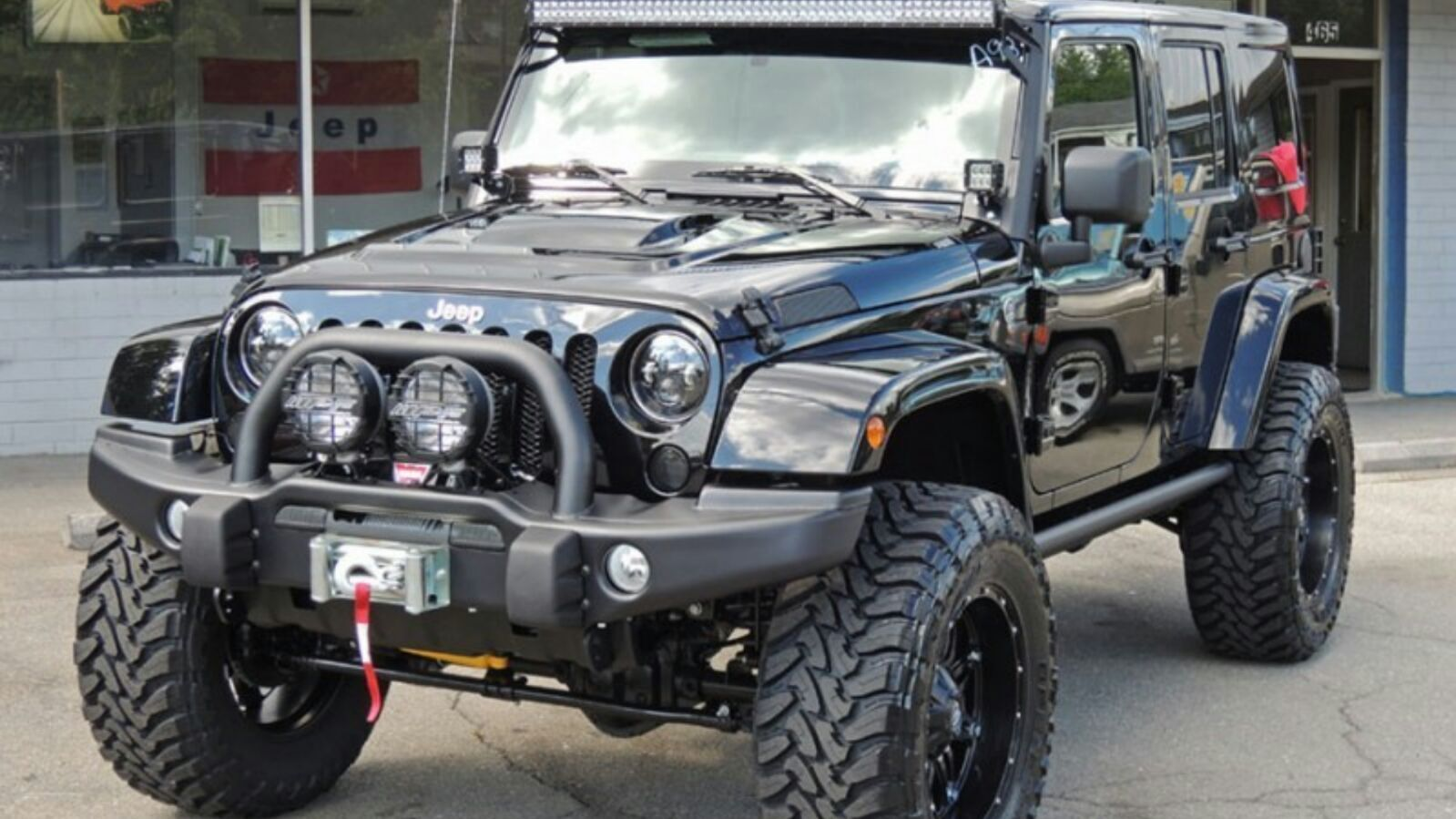 Aev Front Bumper on Dodge Ram 2500 Patriot