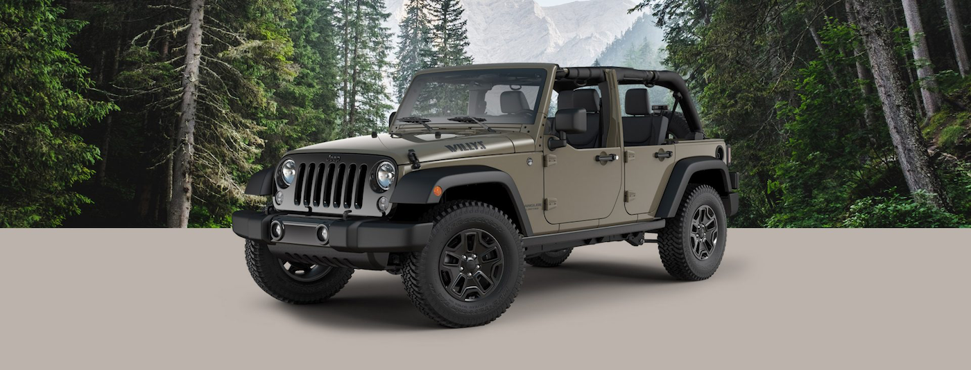 2017 Jeep Wrangler Design